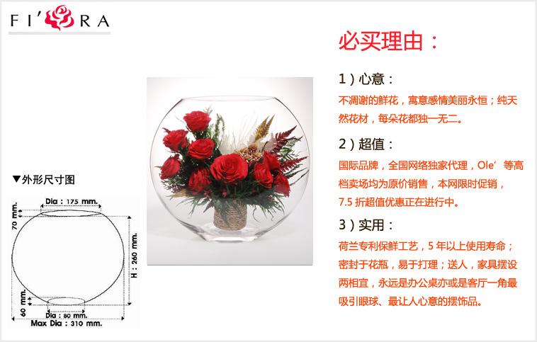玫瑰花园尺寸图