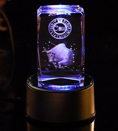 3D水晶內雕-金牛座