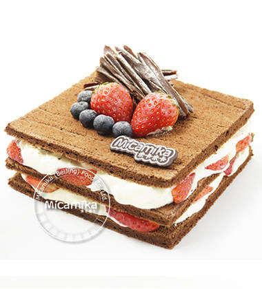 蛋糕图片可爱独特一层