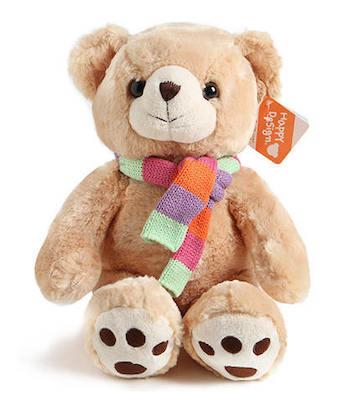 棕色围巾熊(45cm)