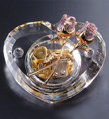 十八音粉水晶玫瑰