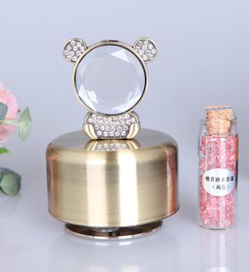香薰音乐盒/青铜色小熊