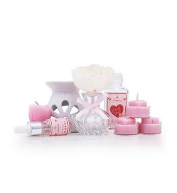 浪漫馨语香薰炉套装礼盒/玫瑰