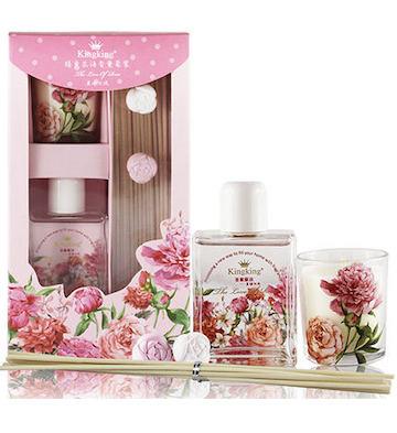 臻爱花语香薰套装--馨鲜玫瑰