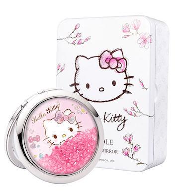 Hello Kitty转运水晶化妆镜