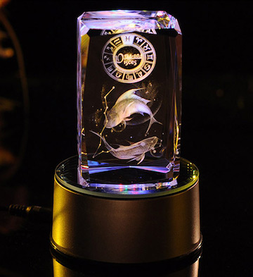 3D水晶内雕-双鱼座
