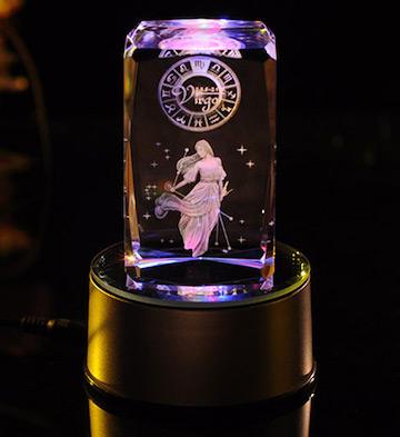3D水晶内雕-处女座