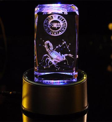 3D水晶内雕-天蝎座