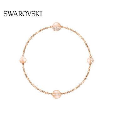 施華洛世奇REMIX星體時尚手鏈/鍍玫瑰金色