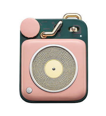 猫王·原子唱机B612 蓝牙智能便携式音箱/粉色