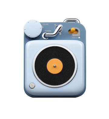 猫王·原子唱机B612 蓝牙智能便携式音箱/篮色