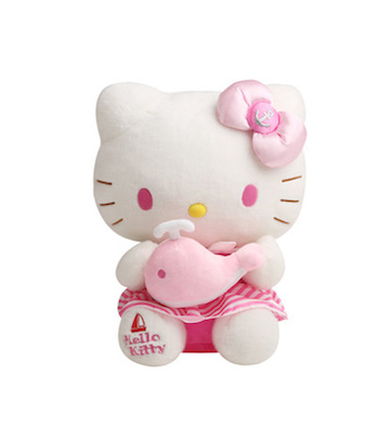 Hello Kitty水手毛绒公仔(20cm)