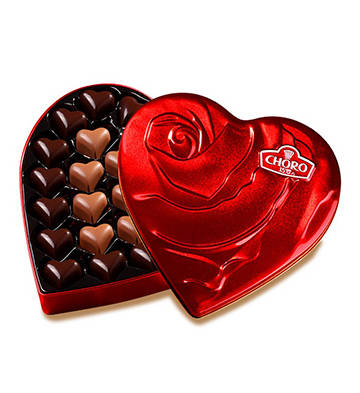 浓情蒂凡尼纯可可巧克力礼盒装