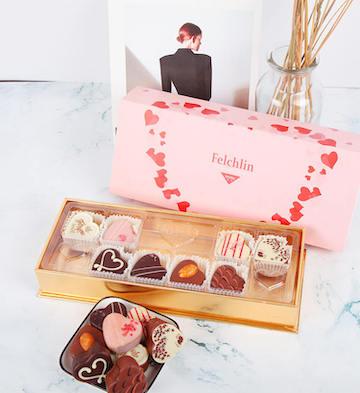Felchlin妃亭8粒装心形巧克力礼盒