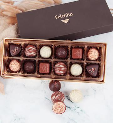 Felchlin妃亭12粒装巧克力礼盒