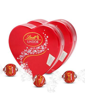Lindt瑞士莲软心牛奶巧克力球8粒2盒