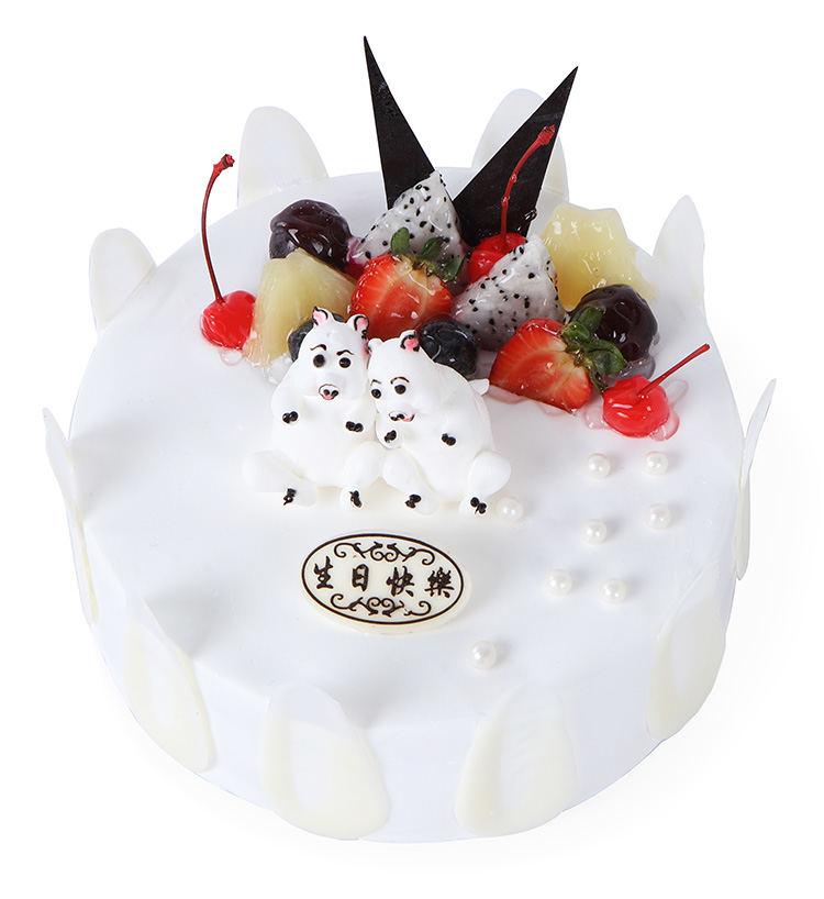 类 别: 蛋糕-生肖蛋糕 编 号:5019001 材 料: 十二生肖蛋糕之憨实可爱