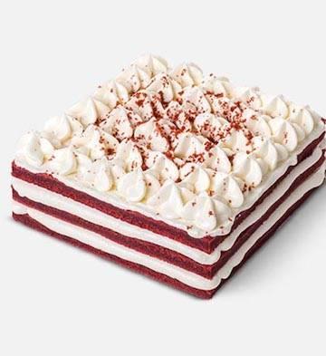 白色紅絲絨(1.2磅)