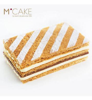 焦糖榛果拿破仑聚会蛋糕(2磅)