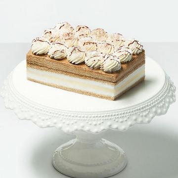 卡法香缇奶油芝士慕斯咖啡生日蛋糕(2磅)