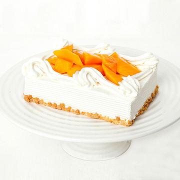 芒果奶油水果生日宴会蛋糕(2磅)