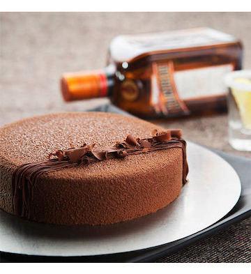 巧克力慕斯可可生日蛋糕(2磅)