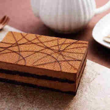 巧克力黑兰生日聚会慕斯蛋糕(2磅)