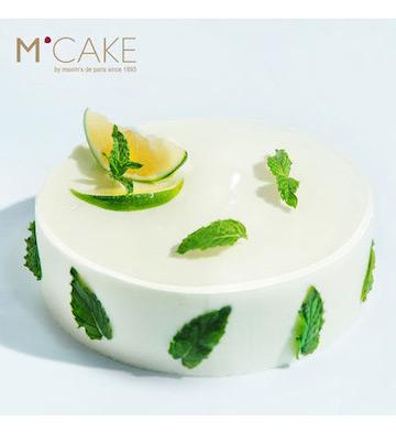 柠.漾柠檬新鲜慕斯生日宴会蛋糕(2磅)