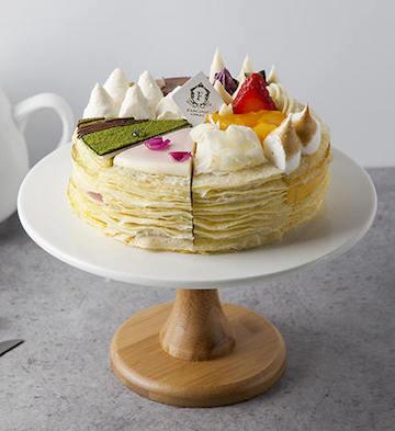 八拼千层蛋糕(2磅)