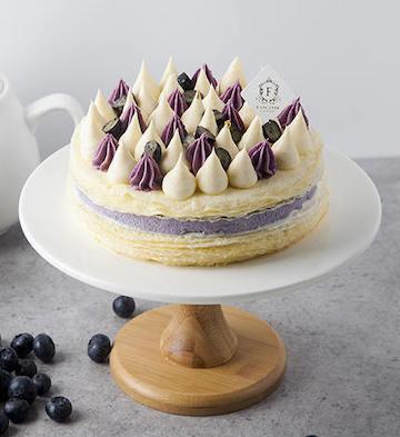 法式蓝莓千层蛋糕(2磅)