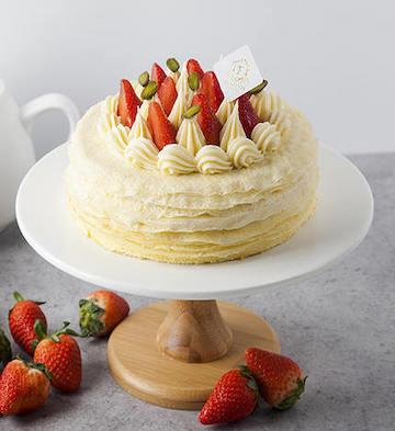 法式香草千层蛋糕(2磅)