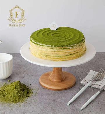 宇治抹茶法式千层蛋糕(2磅)
