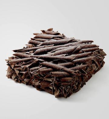 黑森林(1磅)+方形蠟燭