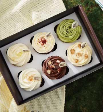 經典紙杯蛋糕禮盒(6寸)