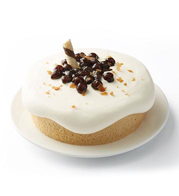 大紅袍黑糖奶蓋蛋糕(6寸)