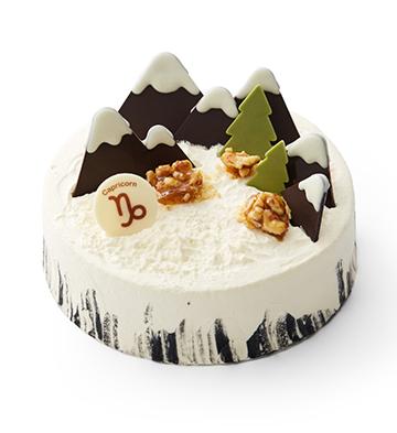 """""""雪域奇緣""""芝香摩卡蛋糕(6寸)"""