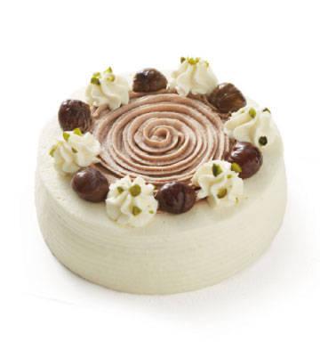 蒙布朗栗蓉奶油蛋糕(6寸)
