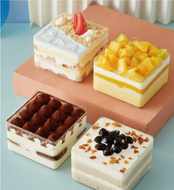 """""""盒你心意"""" 盒子蛋糕礼盒(4盒)"""
