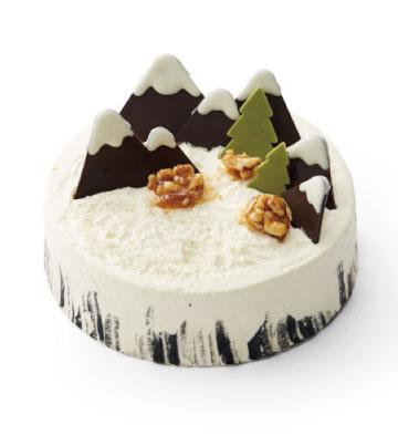 """""""雪域奇缘""""芝香摩卡蛋糕(6寸)"""