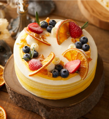 洛可可莓莓百香檸檬蛋糕(6寸)