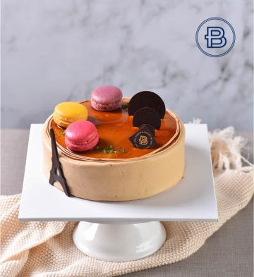 傾心摩卡黃油蛋糕(6英寸)