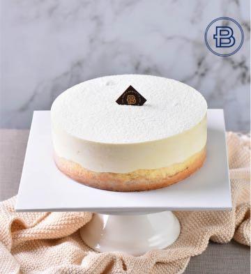 純秀雙層芝士蛋糕(6英寸)