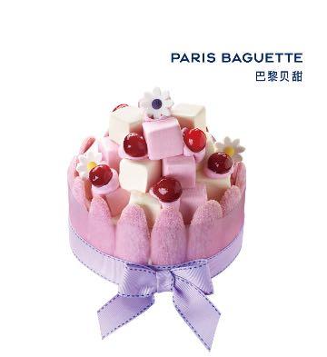 Sweet蜜語蛋糕型冰淇淋(6英寸)