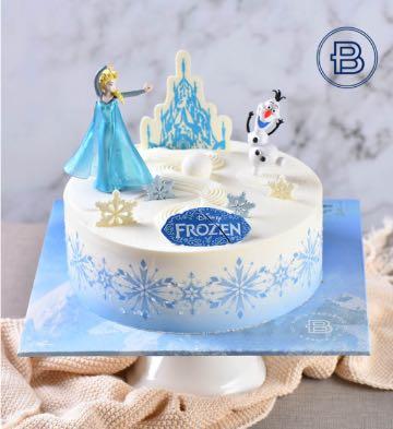冰雪奇缘蛋糕(7英寸)