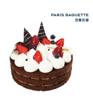 巧克力香脆蛋糕(7英寸)
