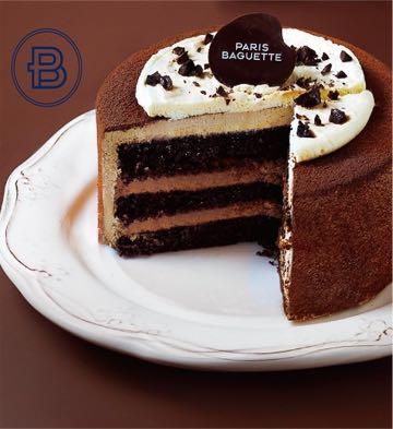 甘納許巧克力蛋糕(6英寸)