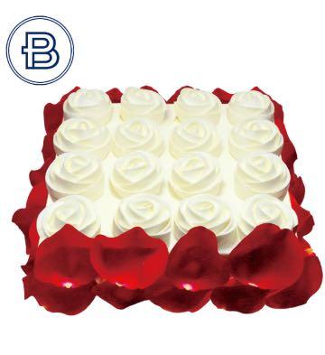玫瑰之戀蛋糕(8英寸)