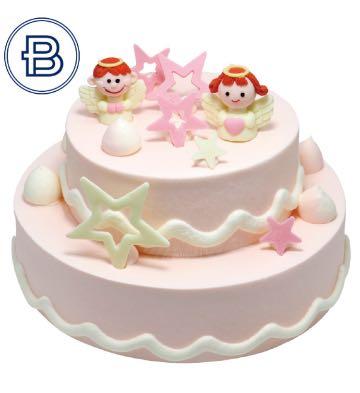 小天使蛋糕(6英寸+8英寸)