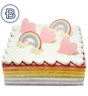 晴天彩虹蛋糕(8英寸)