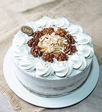 琥珀之心芝麻鮮奶蛋糕(6寸)